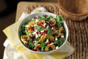 squash_pomegranate_salad